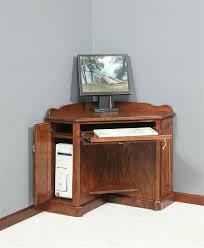 corner computer desk armoire oak corner computer desks for home mesmerizing small corner computer in house