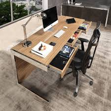 wood modern furniture. Zed Office Desk Is An Elegant And Modern Furniture Piece Made In Wood Stainless Steel
