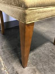 upholstered dining chairs set of 2 beautiful sold out mitc gold for restoration hardware upholstered dining