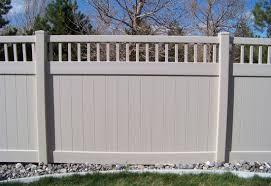vinyl semi privacy fence. Plain Vinyl Vinyl SemiPrivacy Fencing 5 And Semi Privacy Fence N