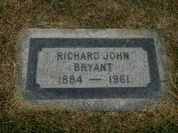Richard John Bryant (1884 - 1961) - Genealogy