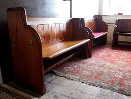 we have a selection of wooden pews available 5 long old church pews with scalloped seats pitch pine very good condition
