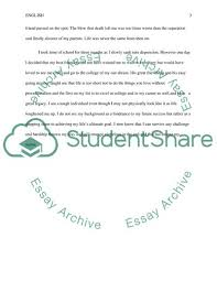 The Story Of My Life Essay Example Topics And Well Written