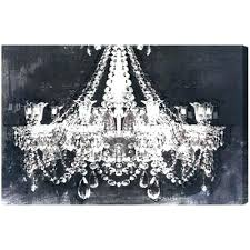 chandelier wall art canvas pink designs gal dramatic entrance for ca chandelier wall art