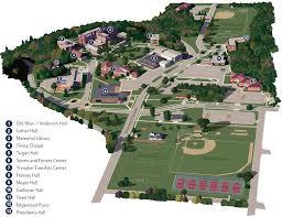 3d campus view