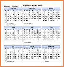 Biweekly Payroll Calendar Template 2018 | 2018 Calendar Template Design