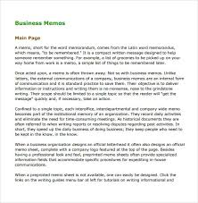 what is a business memo example of a business memo format well and phonmantis info