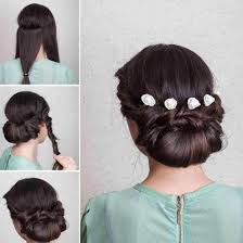 Self Hair Style 18 easy wedding hairstyles that can be done in some minutes 7750 by wearticles.com