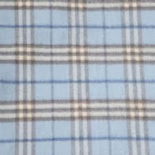 Burberry Light Blue Burberry Cashmere Check Scarf Light Blue 89751