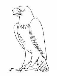 Coloring Pages of Bald Eagles free printable bald eagle coloring pages for kids on printable coloring picture of an eagle