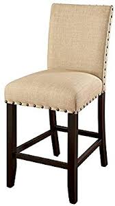 furniture of america boelin 25 5 counter stool in ivory set