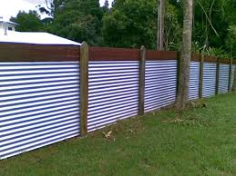 corrugated metal fence diy wood and garden roof futons best in fencing prepare