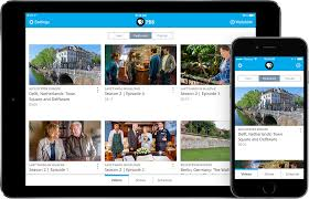 pbs app screens on iphone and ipad