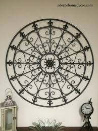 16 iron fleur de lis wall decor fleur de lis wall decor rustic distressed cast iron your mcnettimages com
