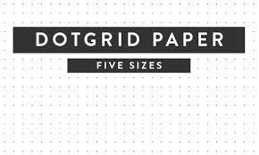 Free Printable Dot Grid Paper Printable Paper Isometric Notebook Ruled Dotgrid And More
