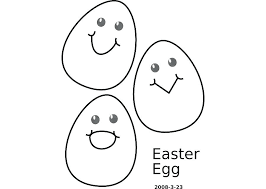 outline of bunny easter egg outline bunny clip art egg vector graphics branch eggs
