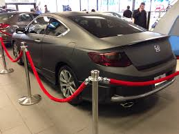 honda accord coupe 2014 black. a 2014 honda accord coupe wrapped in matte black my newyears resolution is to continue