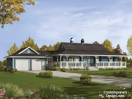 ranch style house with wrap around porch ranch style farmhouse plans