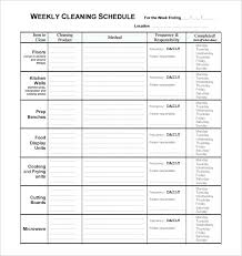 Cleaning Checklist Template Free Restaurant Shift Schedule Template Restaurant Restroom Cleaning