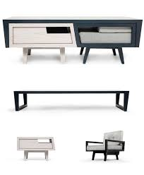 furniture multifunction. 3. The Coffee Table That Houses An Armchair And Side Furniture Multifunction I