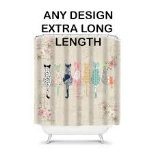 extra long shower curtain shower curtains shower curtain hookless shower curtain cool