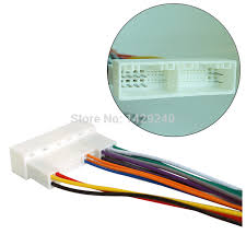online get cheap wiring harness car stereo aliexpress com car radio stereo wiring harness adapter plug for hyundai ix35 elantra santa fe