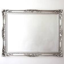 elegant silver mirror by decorative mirrors online