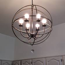 chandeliers spherical chandelier orb chandelier
