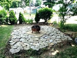 patio outdoor patio with fire pit brick area design ideas nice fireplaces stone round vinyl