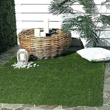 grass rug indoor faux grass rug vista collection verdant green indoor outdoor faux grass area