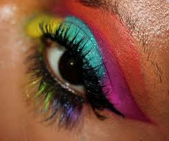 carnival mardi gras makeup look you decide lol