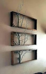 organic wood wall art