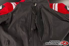 also available in mesh this joe rocket honda cbr textile jacket from riders is available in red as pictured or black