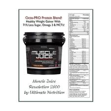 ultimate muscle gainer muscle juice revolution 5 lb in dubai