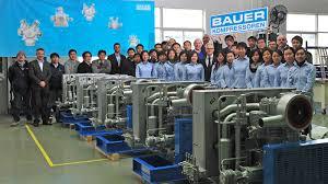 bauer в Китае Команда дочернего предприятия bauer в Китае