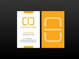 business cards interior design. Interior Design Business Cards I