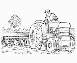 25 Best Tractor Coloring Pages To Print For Farm Tractor Coloring