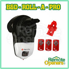 b d roll a pro garage rolling door opener incl smart phone control kit
