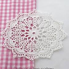 Crochet Doily Patterns Inspiration Free Crochet Doily Patterns Create Crochet Pinterest Free