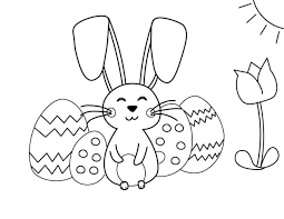 Welcome to our easter coloring pages. Printable Easter Coloring Pages To Simply Inspire