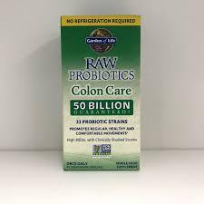 garden of life raw probiotics colon care shelf stable