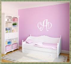 Monogram Decorations For Bedroom Monogram Wall Decals Home Decorations Ideas