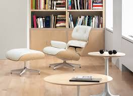 herman miller eames lounge chair and ottoman white ash herman miller by