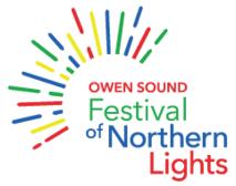 Image result for owen sound festival of lights