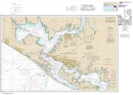 11390 Intracoastal Waterway East Bay To West Bay Nautical Chart