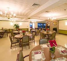 Attractive A Different Angle Of The Nursing Home Dining Room, Featuring Kwaluu0027s Regal  Dining Chairs And