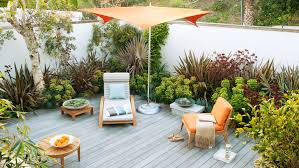 How to Decorate a Deck Sunset