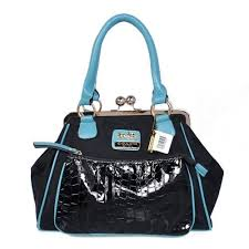 Coach Madison Pinnacle Carrie Medium Blue Satchels BXA Give You The Best  feeling!