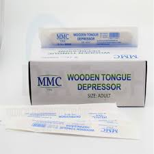 wooden tongue depressor sterile 1box 100pcs