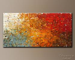 abstract art painting running free